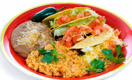 Mexican Food for Two or Four at Felipe's Mexican Restaurant (42%% Off)