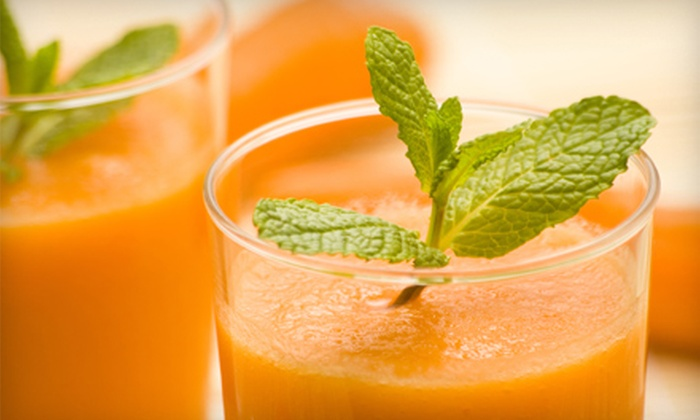 Nature's Cafe - Oakview: Fresh Squeezed Juice Blends and Smoothies at Nature's Cafe (Half Off). Two Options Available