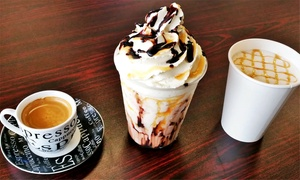 Nova Flow Cafe: $11.99 for Punch Card Good for Five Coffee and Blended-Ice Drinks ($20.55 Value)