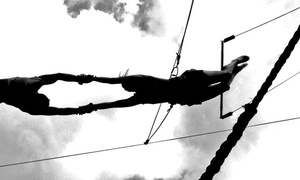 Lone Star Trapeze Academy: Flying Trapeze Experience for One or Two at Lone Star Trapeze Academy (Up to 44% Off)