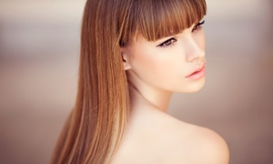 Denny Hairdressing: Brazilian Blow-Dry With Optional Cut for One or Two at Denny Hairdressing (Up to 80% Off)