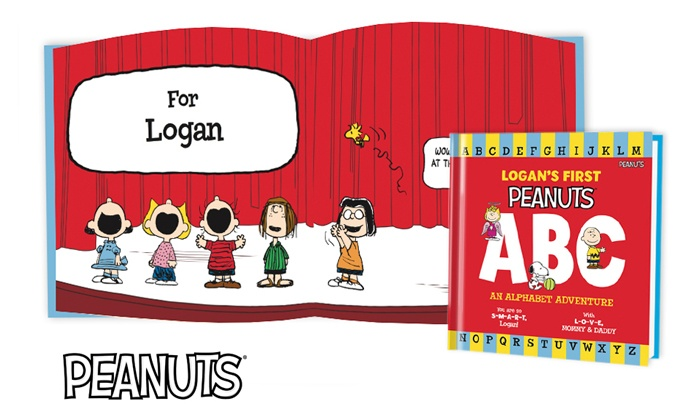 Put Me In The Story: Peanuts Personalized Kids Books from Put Me In The Story (Up to 60% Off). Two Options Available.