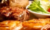 Cowboys Bar-B-Q & Steak Co. - Multiple Locations: $25 for $50 Worth of Barbecue Food and Drinks at Cowboys' Bar-B-Q & Steak Co.