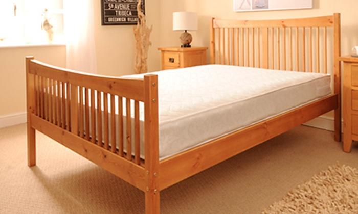 Shaker Bed Frame Groupon