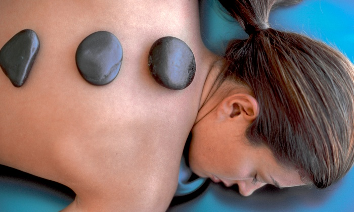 Spa 101 - Cannondale: Hot-Stone or Four-Handed Massage (Up to 53% Off). Three Options Available.