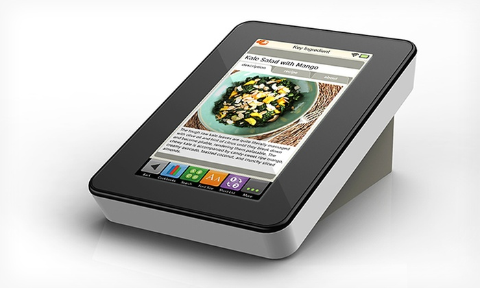 Key Ingredient Recipe Reader: $119.99 for a Key Ingredient Recipe Reader Tablet ($179.95 List Price). Free Shipping and Free Returns.