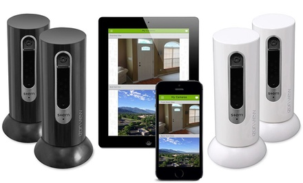 Izon View WiFi Video Monitors with Night Vision for iOS and Android (1- or 2-Pack)