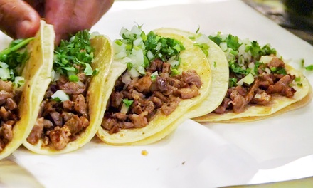 40% Off at El Gran Taco Loco