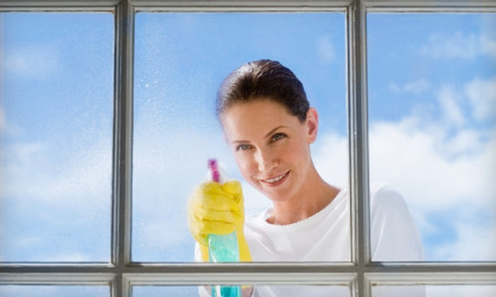 All Clear Pro Home Services - Ridgewood: Cleaning for 15 Windows or Power Washing for a Deck or Patio from All Clear Pro Home Services (Up to 61% Off)