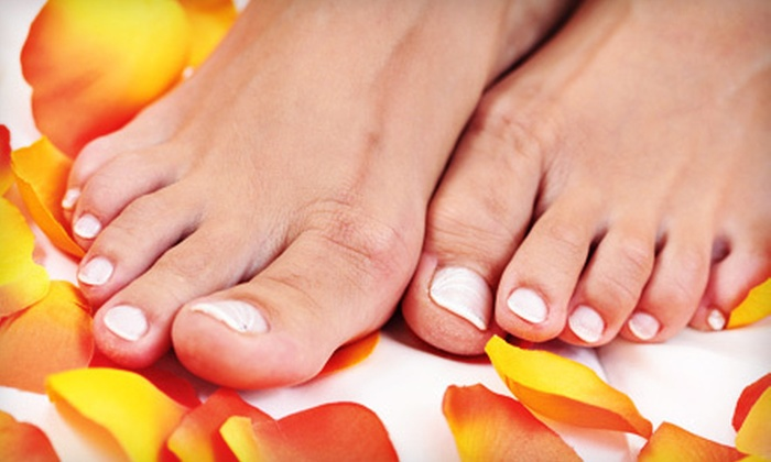 Omega Podiatry - Multiple Locations: Laser Toenail-Fungus Treatment for One or Both Feet at Omega Podiatry (Up to 80% Off)