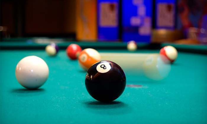 Fast Eddy's Billiards - Capitola: $10 for One Hour of Pool for Two with Fries and a Pitcher of Beer or Soda at Fast Eddy's Billiards (Up to $27.75 Value)