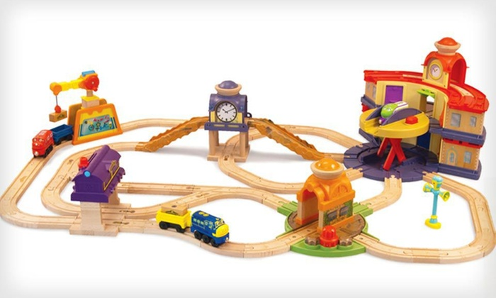 chuggington wooden train set 2