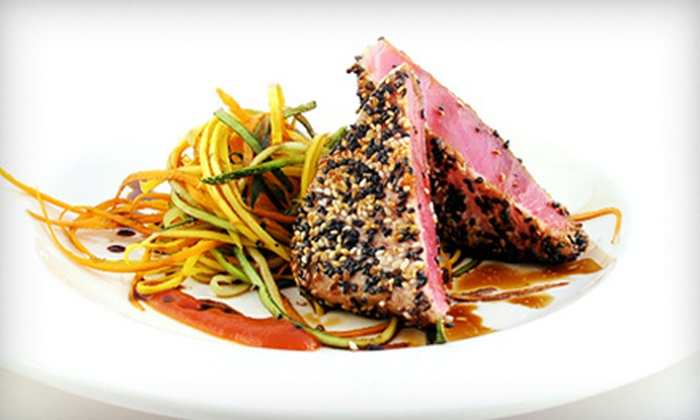 Fishtales Seafood Company - New Canaan: Salmon or Ahi Tuna Meal for Two or Four or $15 for $30 Worth of Seafood at Fishtales Seafood Company (50% Off)