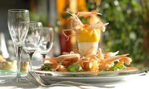 LE JARDIN D'HIVER de la Bertelière: Repas gastronomique avec spécialités normandes pour 2 ou 4 personnes dès 49 € au Jardin d'hiver de la Bertelière