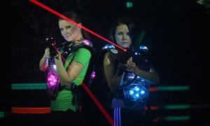 LaserPlaza: 2x Lasergame  à 15 Min. inkl. Einweisung und Ausrüstung für vier, sechs od. acht Personen bei Laser Plaza (49% sparen*)