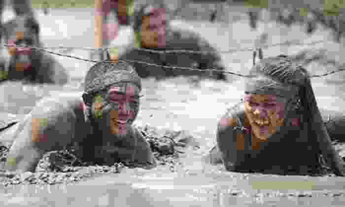 Rebel Race - 10: 5K or 15K Obstacle-Course Rebel Race with Optional Camping on Saturday, June 22 (Up to 53% Off)