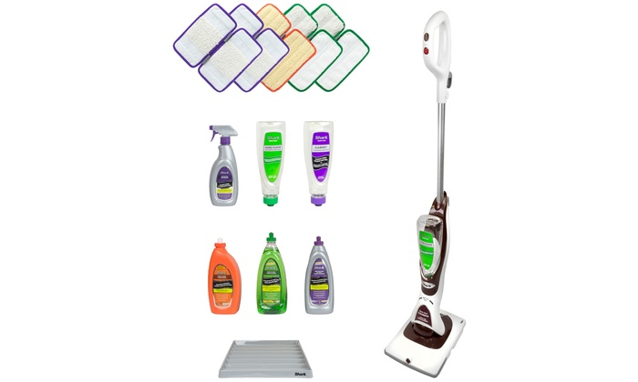 59 Off On Shark Sonic Duo Floor Cleaner Groupon Goods