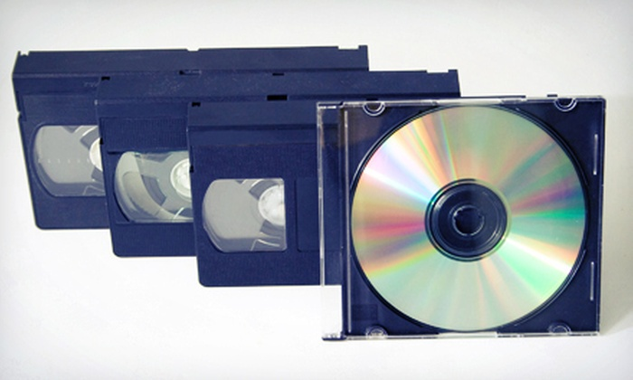 Buzzbizz Studios - Midtown: $40 for $105 Worth of Tape-to-DVD Conversions at Buzzbizz Studios