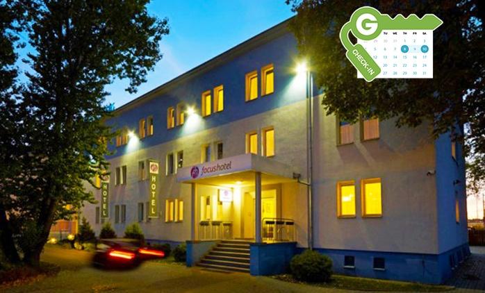 Polska - Bydgoszcz: pobyt dla 2 osób ze śniadaniem lub wyżywieniem, sauną, siłownią i więcej w Hotelu Focus Bydgoszcz