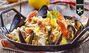 Locanda Turbin: Menu spagnolo con paella alla Valenciana e sangria (sconto fino a 66%)