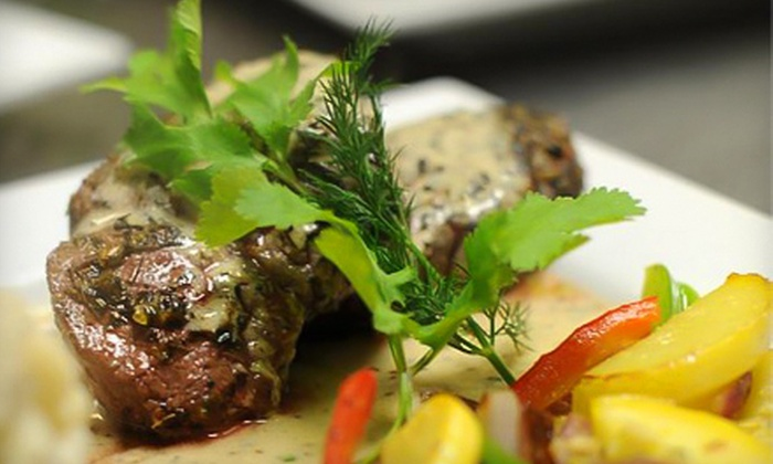 Irina's Restaurant and Bar - Urbandale: $20 for $40 Worth of Russian-Inspired Steakhouse Cuisine at Irina's Restaurant and Bar