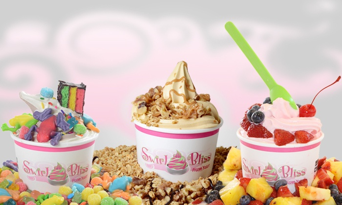 Swirl Bliss - Baldwin: Frozen Yogurt and Treats at Swirl Bliss (Up to 50% Off). Two Options Available.