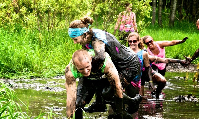 The Mud Games - Blaine: Race Registration for One, Two, or Four from The Mud Games on Saturday, June 14 (Up to 52% Off)