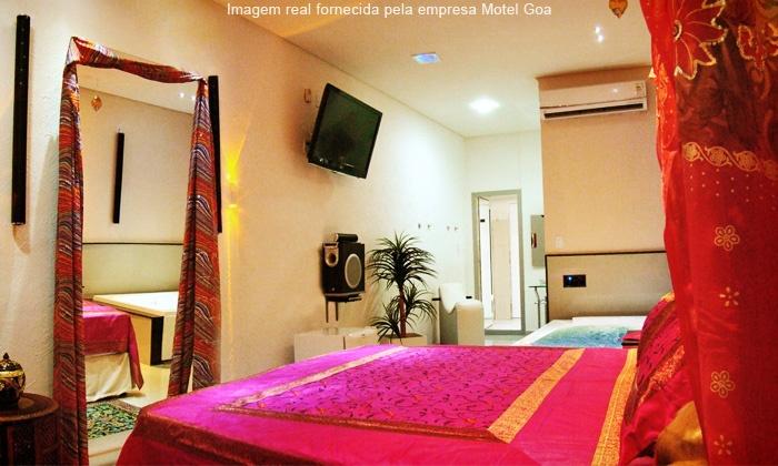 Motel Goa - Jaboatão dos Guararapes: Goa Motel – Piedade: 4 horas na suíte Hare Baba ou na Goa a partir de R$ 39,90