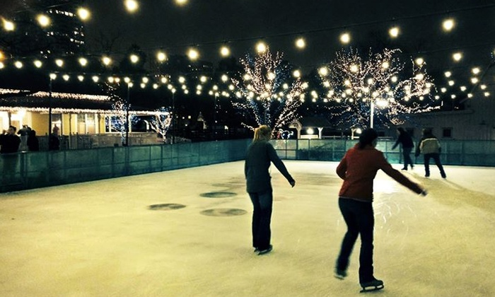 Lincoln Park Zoo - Chicago: Ice Skating for Two or Four at Lincoln Park Zoo (50% Off)