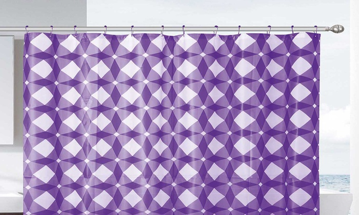 Jaxon PEVA Shower Curtain with 12 Hooks: Jaxon PEVA Shower Curtain with 12 Hooks. Multiple Colors Available.