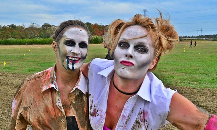 MudManX - Corner of Chaos: Obstacle-Race or 10K Competitive-Heat Entry to MudSpooktacular (Up to 64% Off). Four Options Available.