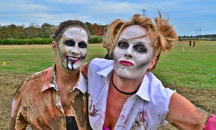 Obstacle-Race or 10K Competitive-Heat Entry to MudSpooktacular (Up to 64% Off). Four Options Available.