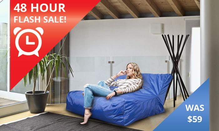 Incredible Giant Indoor Outdoor Bean Bag Groupon Uwap Interior Chair Design Uwaporg