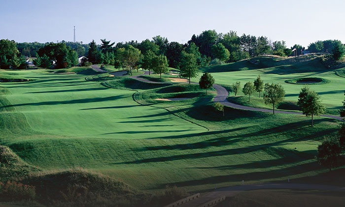 EagleSticks Golf Club - Springfield: Golf Outing with Cart Rental and Grill Voucher for Two or Four at EagleSticks Golf Club (Up to 57% Off)