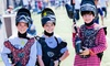 Paintball International - Splat Zone Paintball: All-Day Low-Impact Paintball Package for 4, 6, or 12 from Paintball International (Up to 89% Off)
