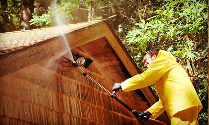 Gutter Pro - Athens, GA: Gutter Cleaning or Pressure Washing for Up to 3,000 Square Feet from Gutter Pro (Up to 54% Off)