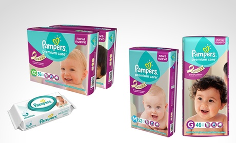 Pañales Pampers Premium Care