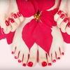 55% Off Mani-Pedi at Corazon's Nail Salon