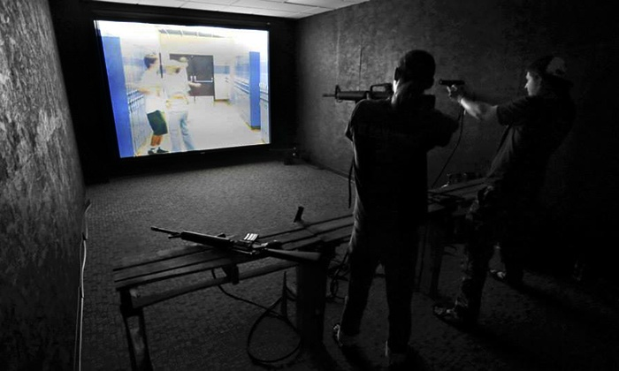 QuickDraw Nashville - Brentwood: Virtual Firearm Training for 4, 8, or 12 People at QuickDraw Nashville (Half Off)