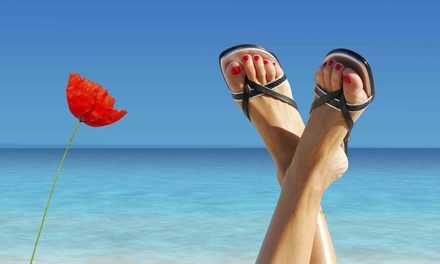 Laser Toenail-Fungus-Removal Treatment for One or Both Feet at New Jersey Foot and Ankle Centers (Up to 79% Off)