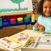 Melissa & Doug Wooden See and Spell Puzzle Set