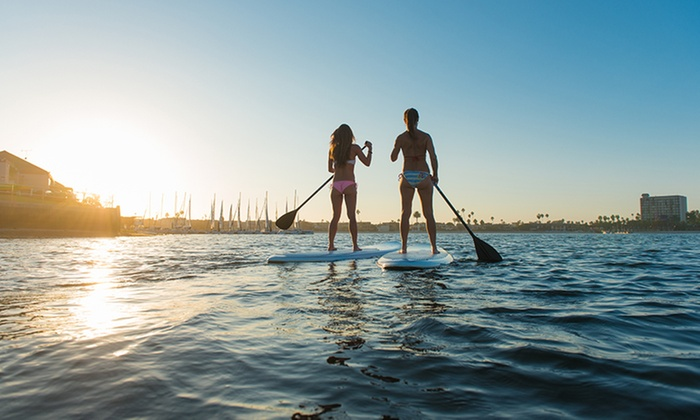 MacKite Kite boarding - Grand Haven: 1- or 2-Day Standup Paddleboard Rental for One or Two People at MACkite (Up to 53% Off)
