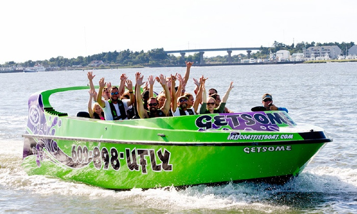 East Coast Jet Boat - Cape May / Wildwoods: Jet-Boat Ride for Two or Four at East Coast Watersports (Up to 51% Off)