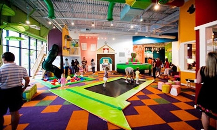 A Latte Fun Indoor Playground and Café - Multiple Locations: $25 for Five Indoor-Playground Visits to A Latte Fun Indoor Playground and Café (Up to $54.75 Value)