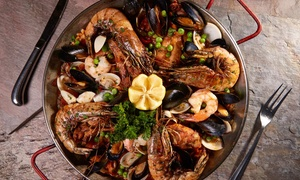 Blue Bar Grill: $18 for $30 Worth of Bistro Lunch with Ocean Views for Two at Blue Bar Grill