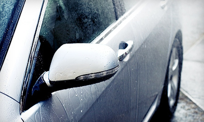 Sudsy Car Wash & Detailing Center - Oakland Park: $12 for The Works Soft-Cloth Car Wash with Rain-X and Interior Cleaning at Sudsy Car Wash & Detailing Center ($24 Value)