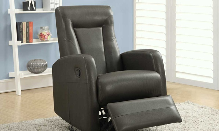 Bonded Leather Recliner Groupon Goods