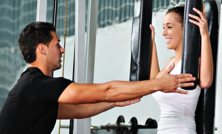 Four or Eight 30-Minute Personal-Training Sessions at Gunz Up Training & Nutrition (Up to 72% Off)