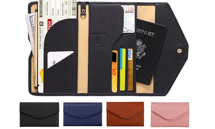 One or Two TriFold Passport Travel Organisers