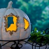 Light-Up Fairytale Pumpkin with Carriage Frame
